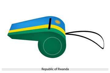 A Whistle of The Republic of Rwanda