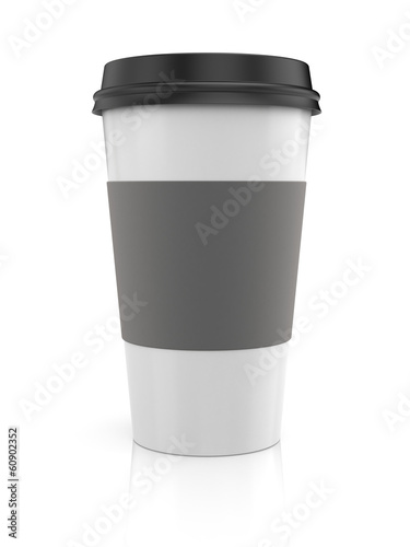Coffee in thermo cup