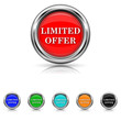 Limited offer icon - six colours set