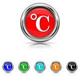 Celsius icon - six colours set