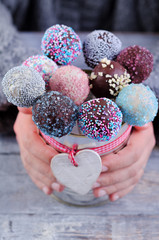 Cake Pops, England, Paris