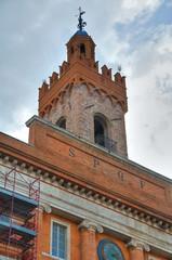 Toen hall Building. Foligno. Umbria. Italy.