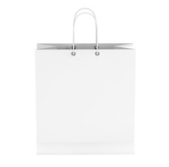 Blank White Shopping Bag