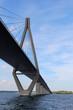 Leinwanddruck Bild - Farö-Brücke in Dänemark
