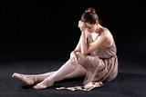 Frustrated dancer