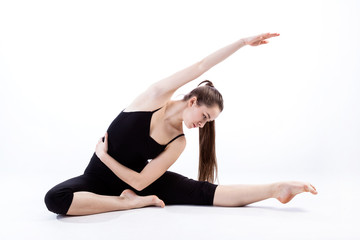 Flexible woman