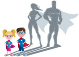 Kids Superhero Concept