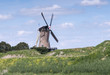 windmill de goede hoop in holland