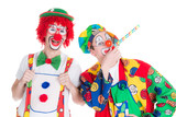 lachende clowns