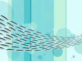Fototapety A School of Fish / Banc de poissons