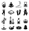 Wellness and Relax Icons - 60911755