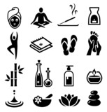 Wellness and Relax Icons