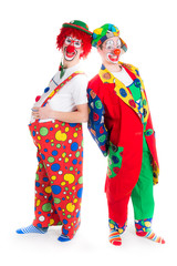 witzige clowns