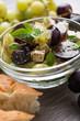 Tofu-Trauben-Salat
