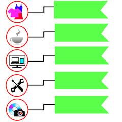 баннер бизнес шаблон