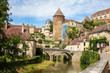 Beautiful town of Semur-en-Auxois, Burgundy, France
