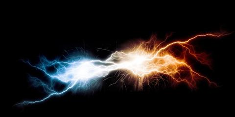flash of lightning