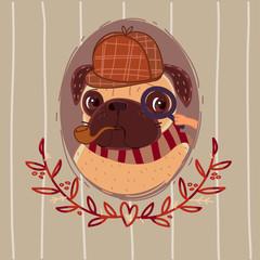 Pug - Sherlock Holmes
