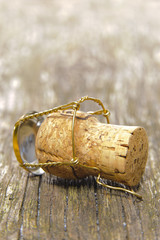 cork of champagne