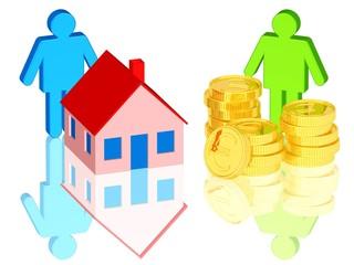 Hauskauf, Immobilienerwerb, Finanzierung