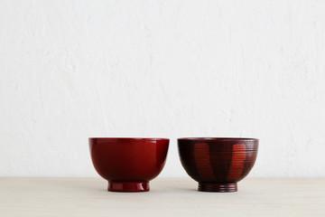 空間とお椀 japanese bowl