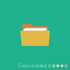 Folder - FLAT UI ICON COLLECTION