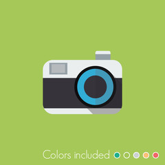 Camera - FLAT UI ICON COLLECTION