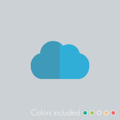 Cloud - FLAT UI ICON COLLECTION