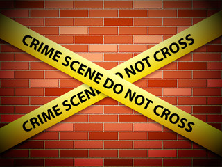 crime scene background