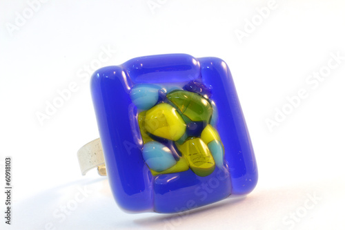 original glass handmade ring