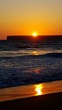 Algarve Strand do Tonel Sonnenuntergang vid 02