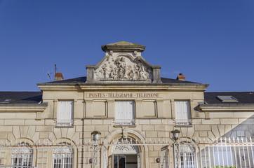 Poste de Givry, bourgogne France , Saône-et-Loire