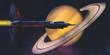 Постер, плакат: Saturn Visit