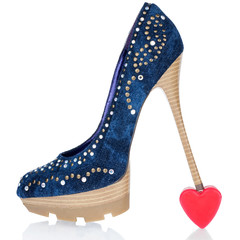 Heel is worth at the symbolic heart
