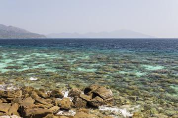 Rok Roy island in Tarutao National Marine Park