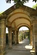 old archway with columns