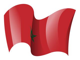Morocco flag - Moroccan flag