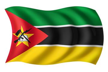 Mozambique flag - Mozambican flag