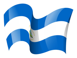 Nicaragua flag - Nicaraguan flag