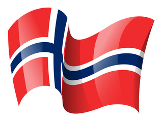 Norway flag - Norwegian flag