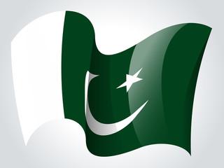 Pakistan flag - Pakistani flag