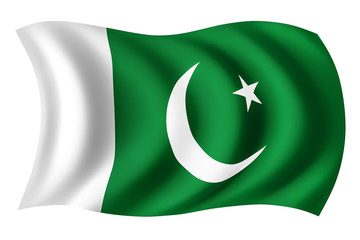 Pakistan flag - Pakistani flag