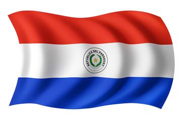 Paraguay flag - Paraguayan flag