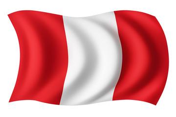 Peru flag - Peruvian flag