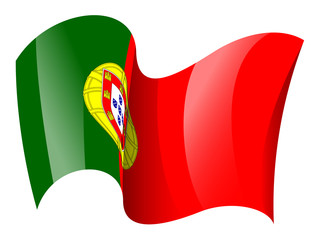 Portugal flag - Portuguese flag