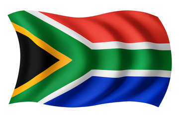 South Africa flag - South African flag