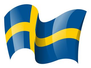 Sweden flag - Swedish flag