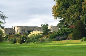 Chirk castle garden, Wales, England