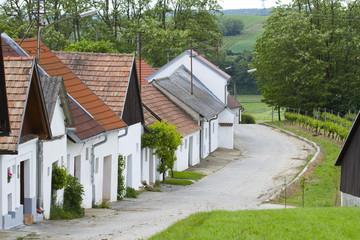 Kellergasse in Niederösterreich