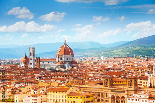 Panorama of Florence and Saint Mary - 60925172